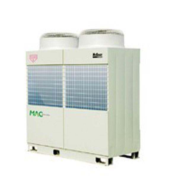 机组综合性能系数IPLV高达4.36,满负荷能效比COP达3.38,取得中国节能产品认证证书。  机组采用了尖端直流变频技术,搭载了直流变频压缩机、直流变频风机电机以及直流变频控制模块。  机组可实现15%~100%高精度无级容量调节。  采用出水温度控制,结合无级容量调节,机组出水温度波动小,使用舒适性高。  机组采用了多重专业的低噪静音设计,在低负荷运转时,变频电机低速运转,噪声最低可低至58dB(A)。  机组采用优质高效部件:进口高精度电子膨胀阀、不锈钢钎焊板式换热器(水侧)、半M型热交换器(